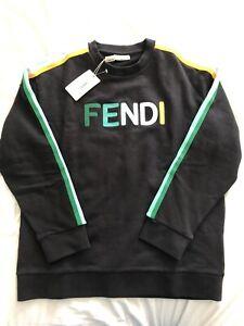 Fendi Kids Sweatshirt Age 12+ 14 XS/S