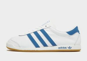 🔥 Authentic Exclusive Adidas The Sneeker ® ( Men Size UK 9-13 ) White / Blue 🔥