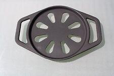 Gusseisen schwarz  Untersetzer - perfekt für heiße Pfannen Töpfe