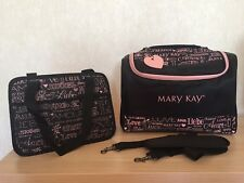 MARY KAY COSMETIC ORGANIZER BAG 2 in 1 SET, BLACK, LIMITED EDITION!!!