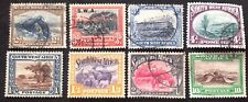 South West Africa 1931 8 X Stamps To 10 Shillings Vfu