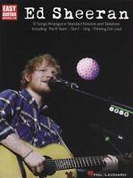 Ed Sheeran for Easy Guitar TAB Sheet Music Book A-Team Sing Photograph