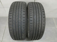 2x Sommerreifen Continental Eco Contact 5 205/55 R16 91V / DOT 2717 / 8,5 mm