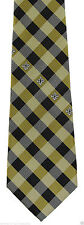 New Orleans Saints Checks Mens Necktie NFL Football Team Sports Fan Neck Tie New