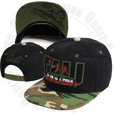 California Republic Baseball Cap Bear Cali Flat Brim Hat Snapback Adjustable Men