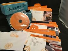 The Cocktail Bar Recipe Cards Box Set with Cooking Music CD