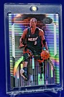 DWYANE WADE BOWMAN ELEVATION SILVER REFRACTOR SP RARE MIAMI HEAT
