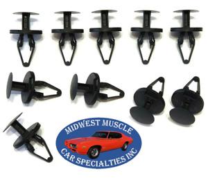 07-14 GM Truck Fender Wheel Well Liner Splash Shield Push Retainer Clips 10pc UM