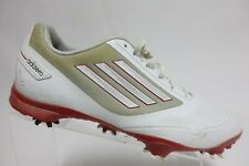 ADIDAS Adizero Golf White/Red Sz 11 Men Golf Shoes