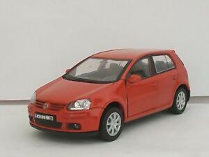 1:34 VOLKSWAGEN VW GOLF V 5 5P COCHE DE METAL A ESCALA SCALE CAR DIECAST 1/32
