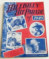 Partition Songbook Sheet Music : HILLBILLY Hit Parade of 1949 * Piano / Guitar