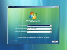 #1 WINDOWS VISTA Recovery Disc Install Reinstall Restore DVD ALL IN ONE