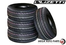 4 X New Lizetti LZ-ES1 185/60R14 82H Extra Value All Season Performance Tires