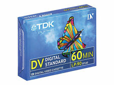 5 TDK Mini DV 60 Camcorder Tapes Sp60 - Lp90