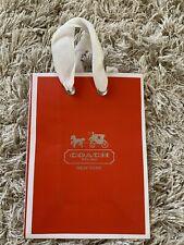 Coach Red 5x7 Shopping Bag - New