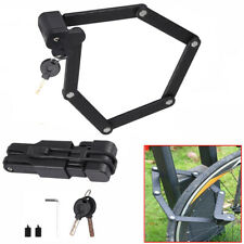Bicycle Bike Fold Cable Lock Steel Anti-Theft Security Combination MTB Road AU