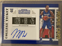 2019-20 Contenders Draft COLLEGE TICKET ON CARD AUTO PJ WASHINGTON RC Rookie