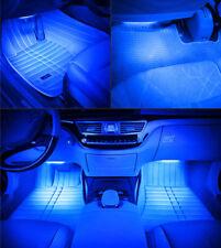 2x C10W 44mm Blue 3 LED INTERIOR FESTOON LIGHT BULBS Audi A4 S4 B5 B6 Avant