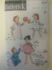 1950s Era Baby/Children 'Collectable Sewing Patterns