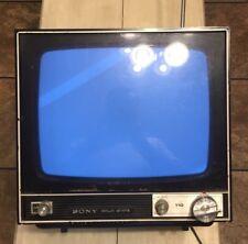 Sony Solid State Vintage Transistor Video Monitor Model CVM-110UA Rare Model