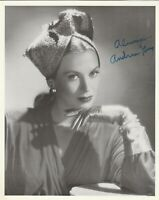 Andrea King      Actress      Vintage B&W Photograph , Signed