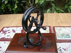 Old Vintage Antique Sewing Machine Wilcox Willcox & Gibbs Hand Crank Only
