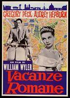 Werbeplakat Vermietungen Romane Audrey Hepburn Gregory Peck Wyler Piaggio Vespa
