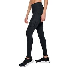 UNDER ARMOUR UA Pinnacle Leggings Women's Size XS Black [1321378-001] $150 NWT