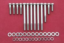FORD 429 - 460 big block, water pump/timing cover stainless steel hex head bolts