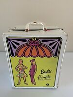 Vintage Barbie and Francie Doll Trunk  Case 1965 Good Condition w/ Drawers