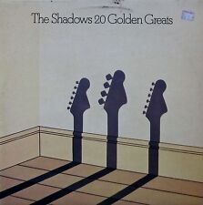 The Shadows - 20 Golden Greats (Vinyl, Ex.Cond., 1977, EMTV3)