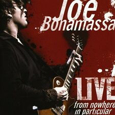 Joe Bonamassa - Live from Nowhere in Particular [New CD]