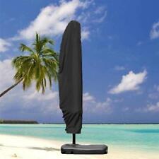 L Size Garden Parasol Sun Shade Patio Banana Cantilever Hanging Umbrella Cover