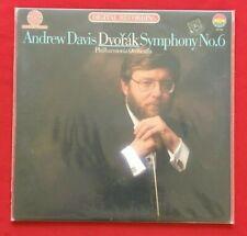 ANDREW DAVIS DVORAK SYMPHONY NO 6 ~ MINT SEALED LP HALF SPEED MASTER AUDIOPHILE