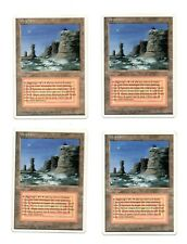4x Plateau - Altopiano MTG (use with wheel savannah volcanic tropical lotus mox)