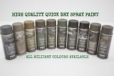 Army Spray Paint Cans 400ml Military Spec Paint Camo Industrial NATO US Aerosol
