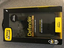 OTTER BOX DEFENDER, Rugged Protection for iPhone X/XS - BLACK