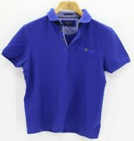 Womans Polo Shirt Size 3 By Ted Baker Blue