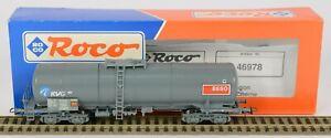 ROCO HO 46978 SNCB KVG ESSO BOGIE TANK WAGON NEM CLOSE COUPLINGS V Nr MINT
