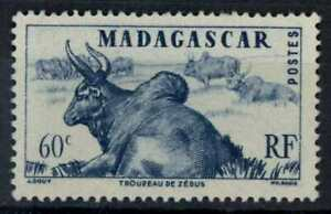 Madagascar 1946 SG#300, 60c Herd Of Zebus MH #E83405