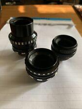MIR-11M VEGA-7 TAIR-41M Vintage Lenses Kiev-16U BMPCC Blackmagic