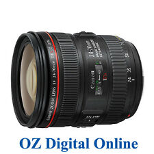 New Canon EF 24-70mm F/4.0 L F4.0 24-70 IS USM Lens for 5D 6D 1 Year Au Wty