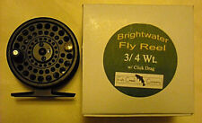 Fish Creek Brightwater Fly Fishing Reel, Mod 3/4 - Trout, Panfish, Bass, Crappie