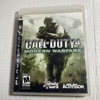 Call Of Duty 4: Modern Warfare For PlayStation 3 PS3 Video Game Free Ship CIB