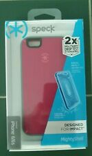 Speck - MightyShell Case & Faceplate for Apple® iPhone® 6 & 6s - Pink/Gray NEW!!