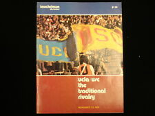 November 23, 1974 UCLA vs. Southern California (USC) Football Program