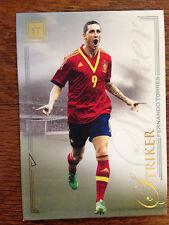 2014 Futera Unique Soccer Card - Spain FERNANDO TORRES Mint