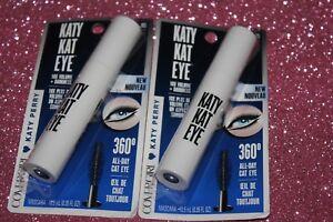 Covergirl Katy Kat Eye Mascara Black #805  LOT OF 2 + FREE GIFT
