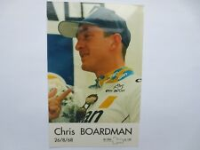 wielerkaart 1996 team gan chris boardman