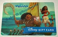 "DISNEY WORLD/STORE GIFT CARD ""MOANA"" NO VALUE DISNEYLAND"